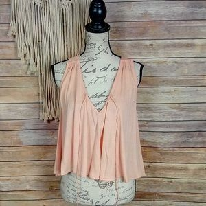 Urban Outfitters | Kimchi Blue Apricot Crop Tank